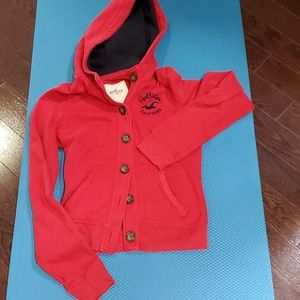 Hollister size S hoodie with bottoms